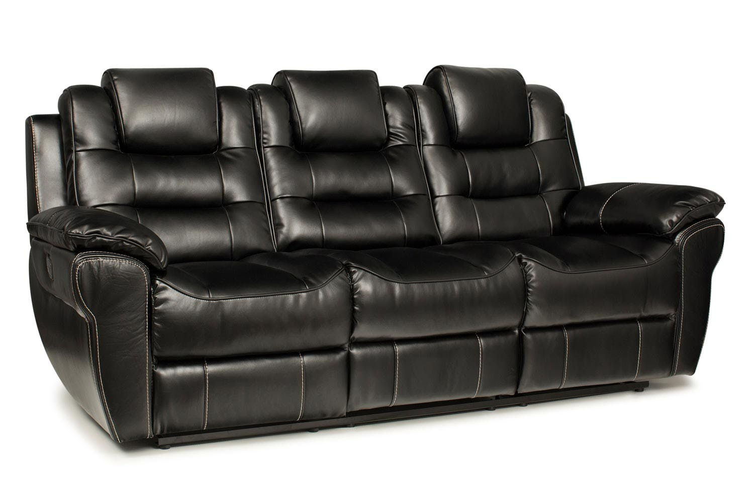 Baxter 3 Seater Twin Electric Recliner