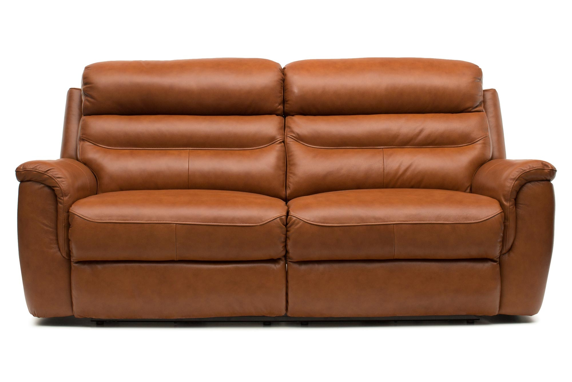 Bayle 3 Seater Leather Recliner Sofa