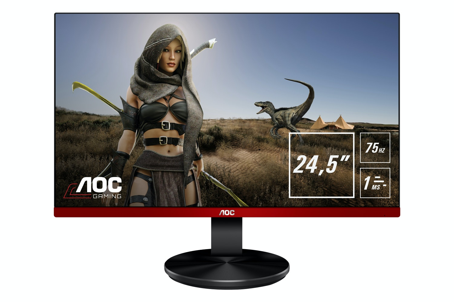 "AOC 24.5"" FHD LED Gaming Monitor 