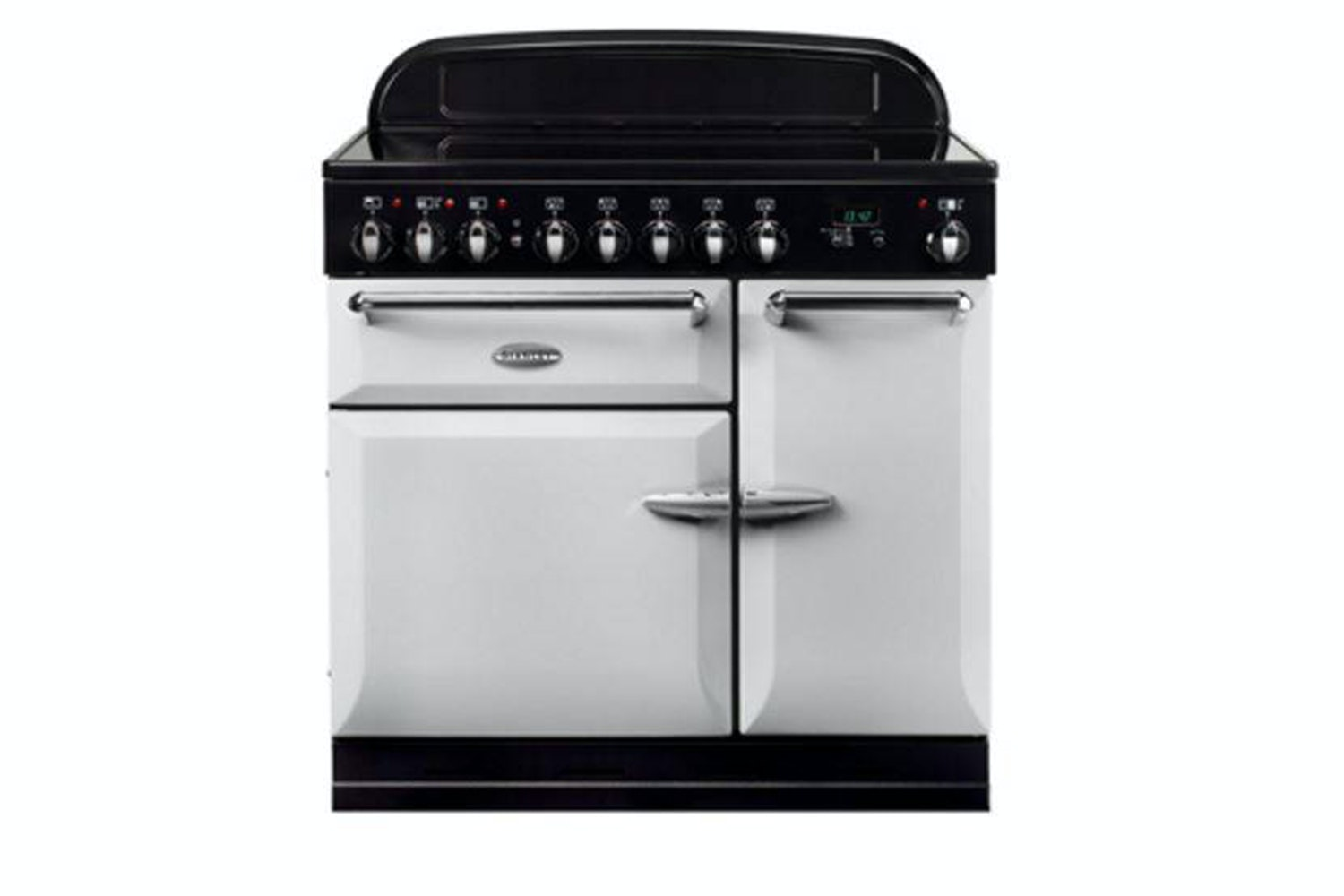 Stanley Supreme Deluxe 90cm Dual Fuel Range Cooker | SSUP90DFFPA/C | Pearl Ashes