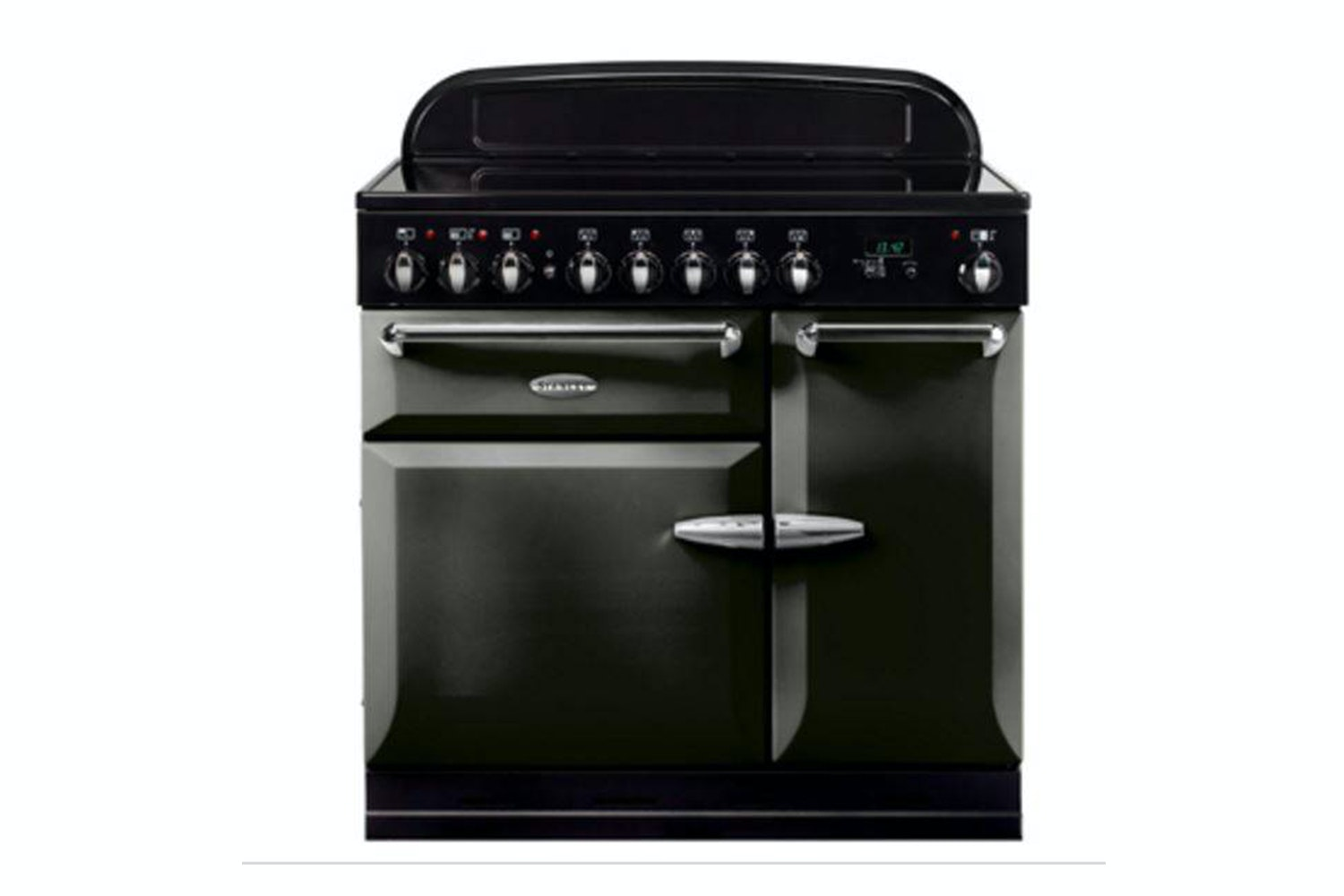 Stanley Supreme Deluxe 90cm Dual Fuel Range Cooker | SSUP90DFFPT/C | Pewter