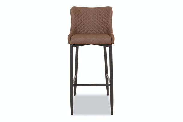 Saxon High Bar Stool | Tan