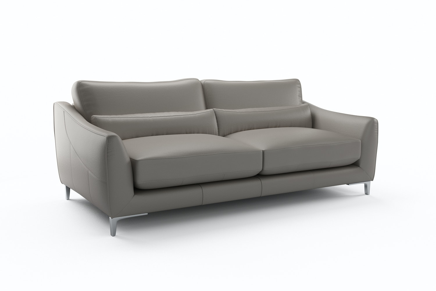 Tandi 3 Seater | Lead Grey