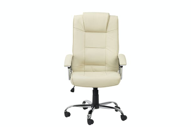 Houston Office Chair | Cream