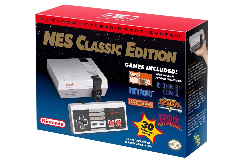 Nintendo Nes Classic Mini Console