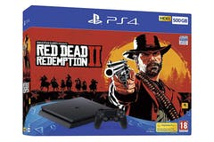 PS4 500GB & Red Dead Redemption II Bundle