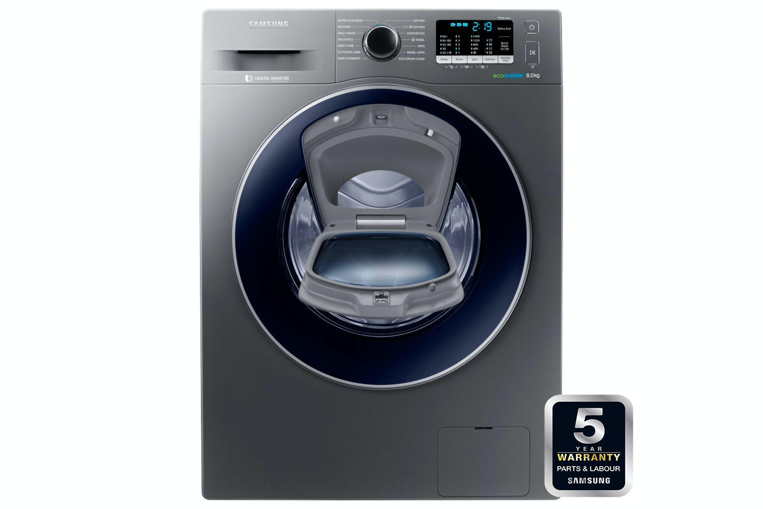 Samsung 8kg AddWash Washing Machine | WW80K5410UX/EU