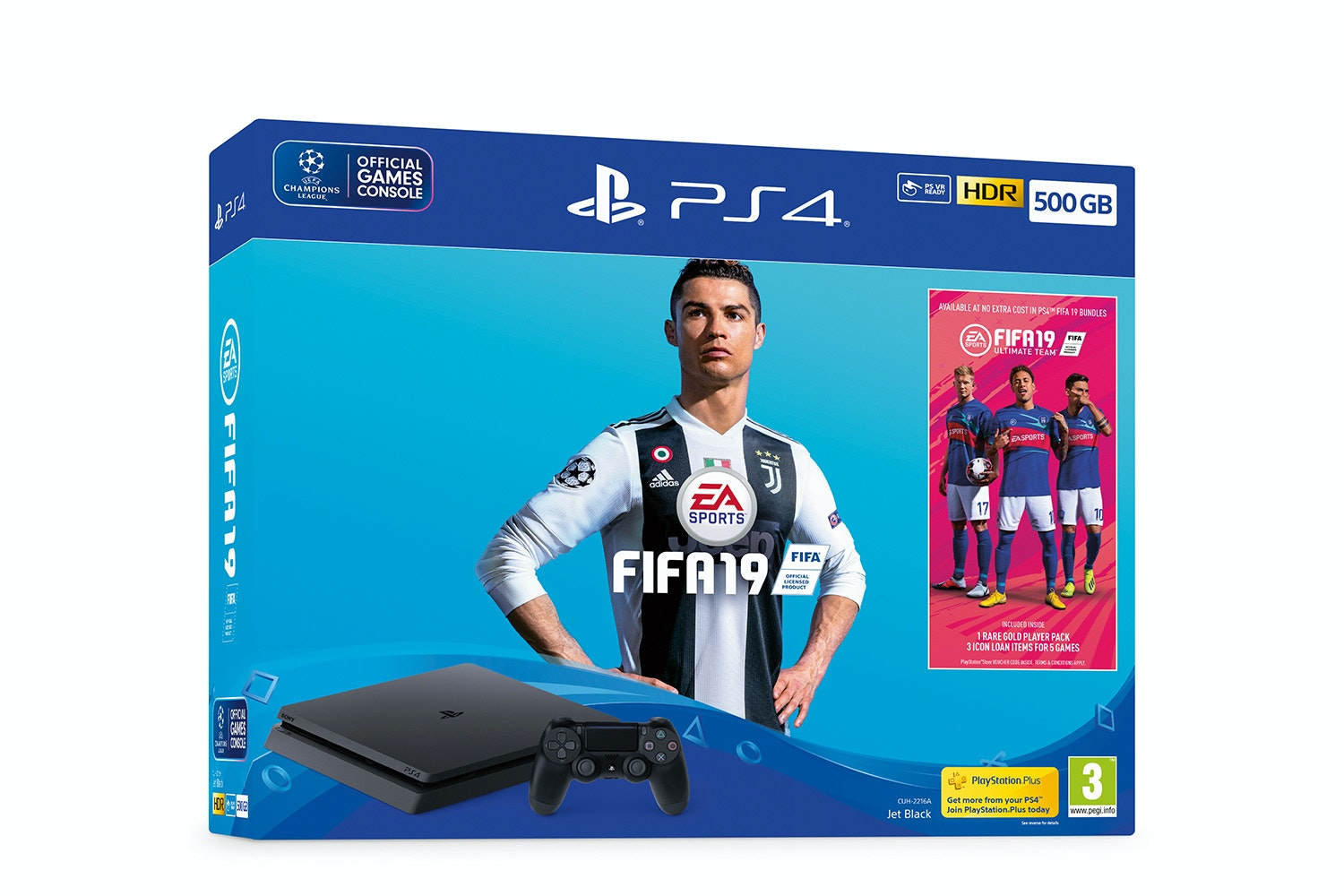 PS4 500GB & FIFA 19 Bundle