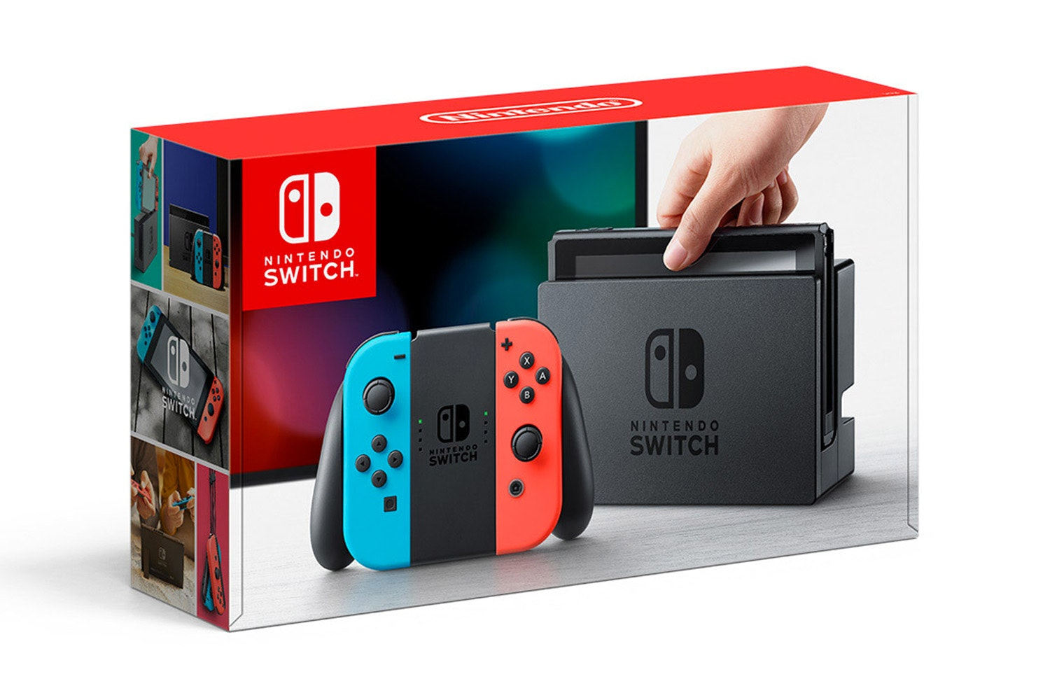 Nintendo Switch Console | Red & Blue