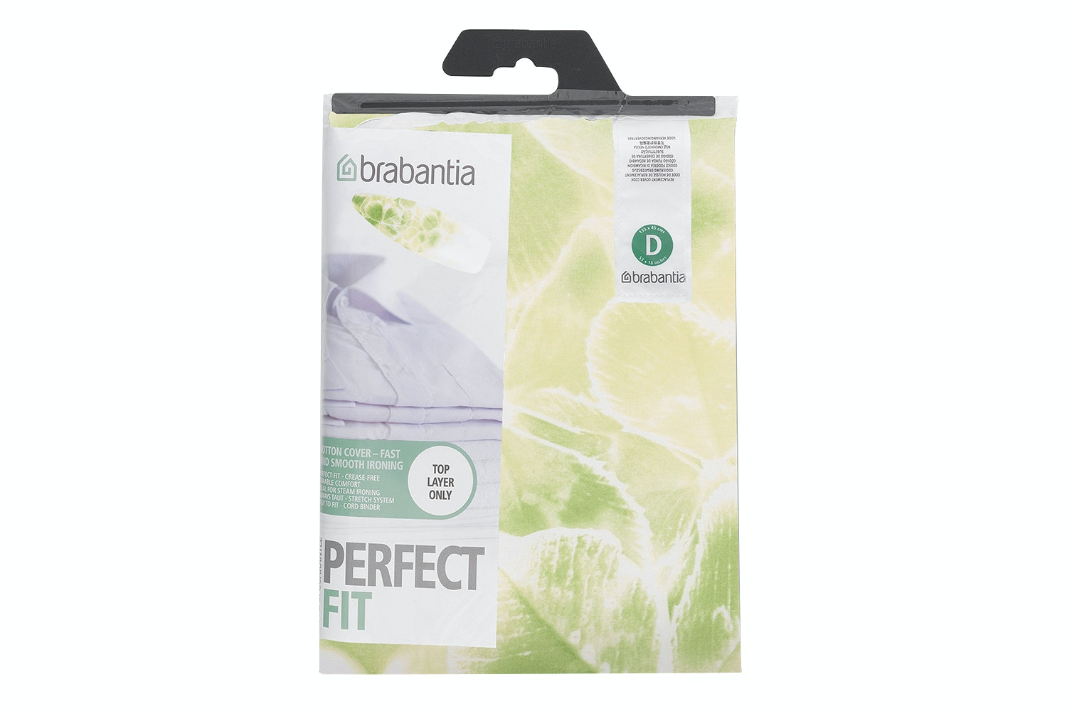 Brabantia 135x45cm D Ironing Board Cover | Assorted
