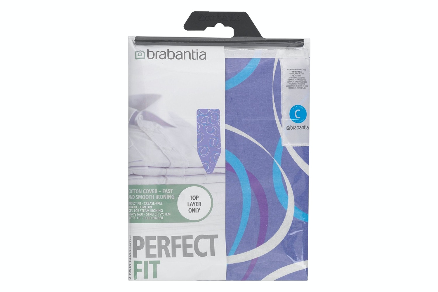 Brabantia 124x45cm C Ironing Board Cover | Assorted