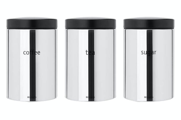 Brabantia Set of 3 Canisters | 1.4L