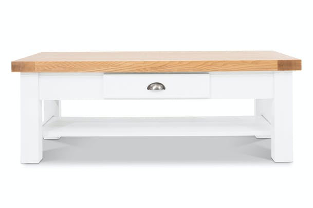 Harvest Coffee Table | White