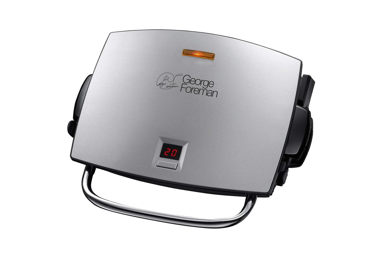 George Foreman 4 Portion Grill and Melt | Silver