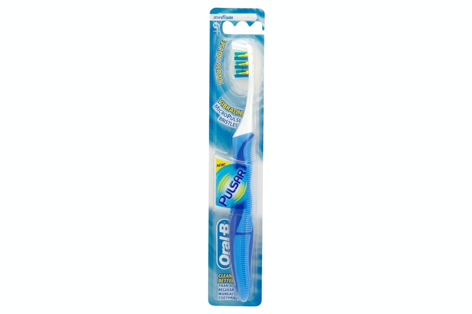 Oral-B Pulsar Vibrating Bristles Toothbrush | OB3014260822729