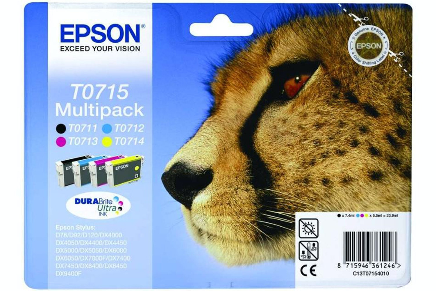 Epson Cheetah Ink Multipack