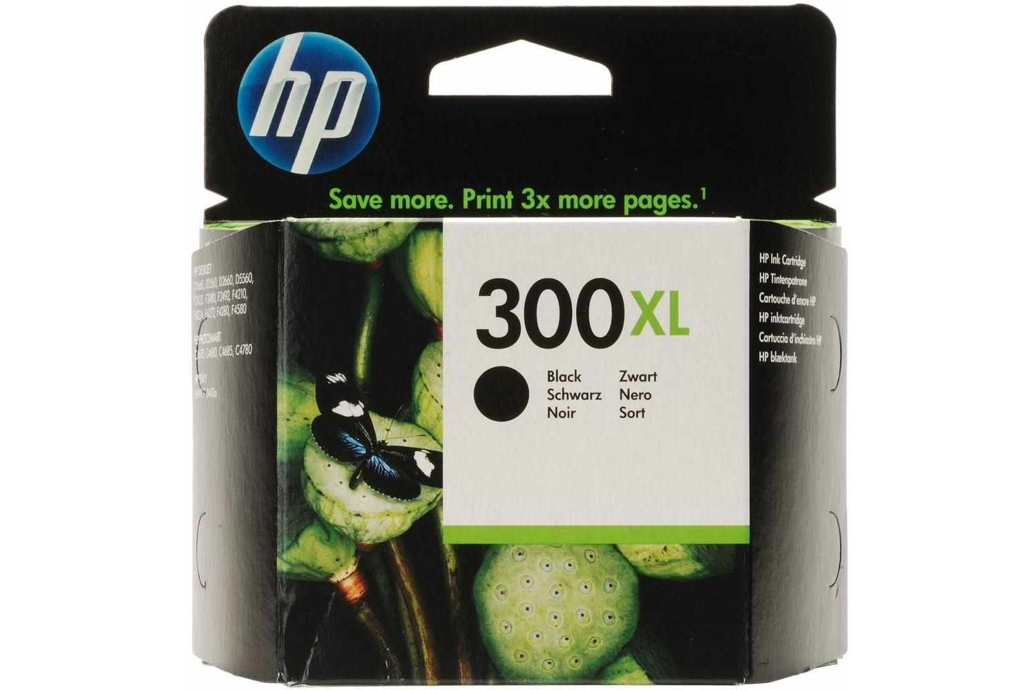 HP 300XL Black Ink