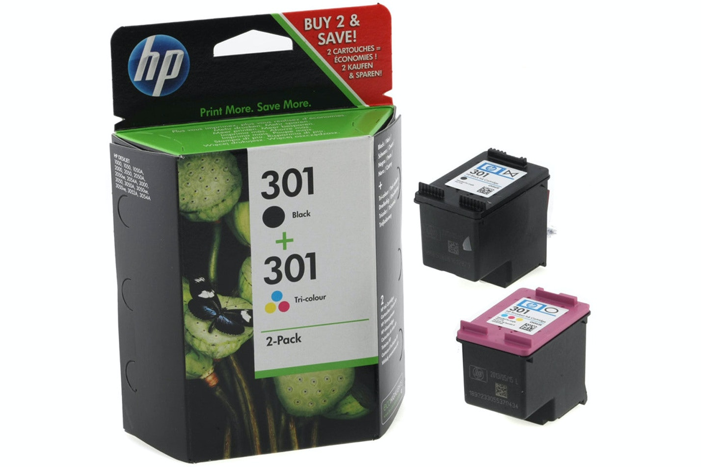 HP 301 Multi-Pack Ink