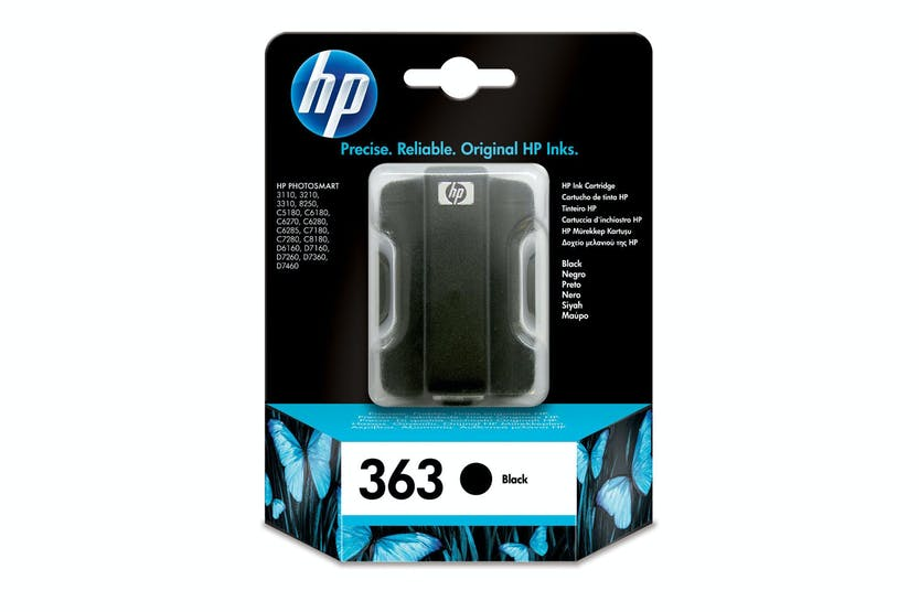 HP 363 Original Black Ink Cartridge