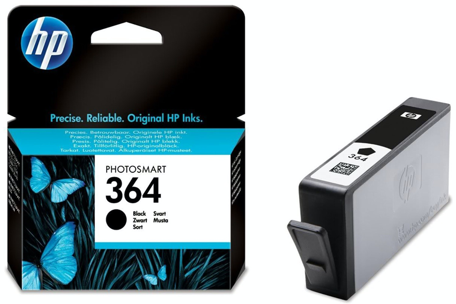 HP NO 364 Black Ink