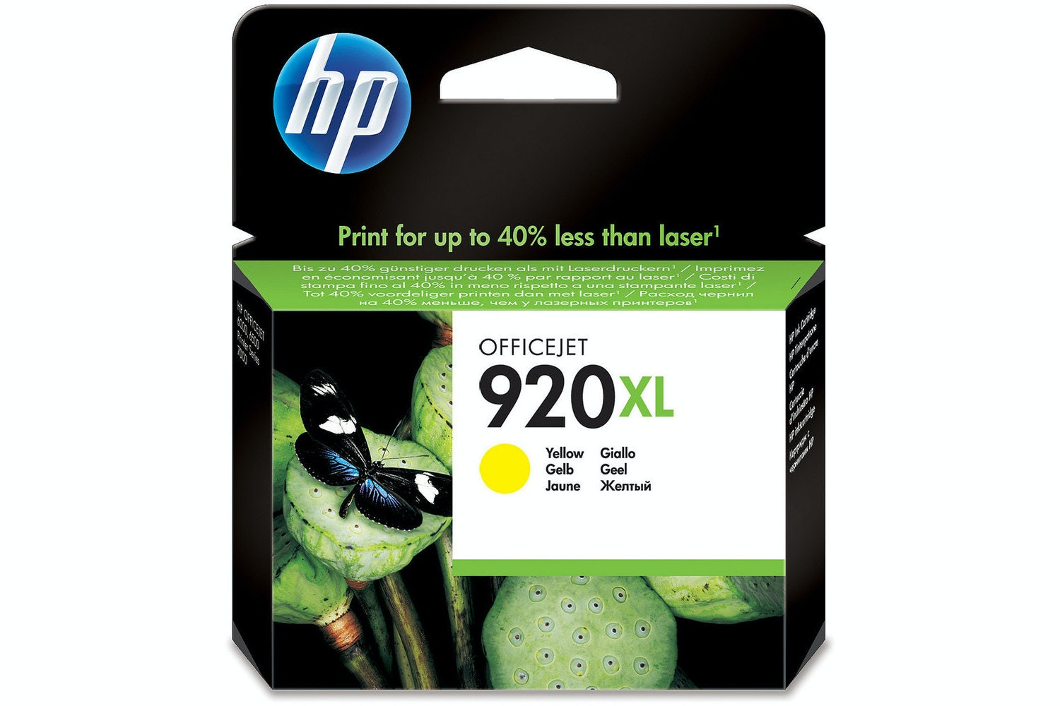 HP 920XL Yellow Ink