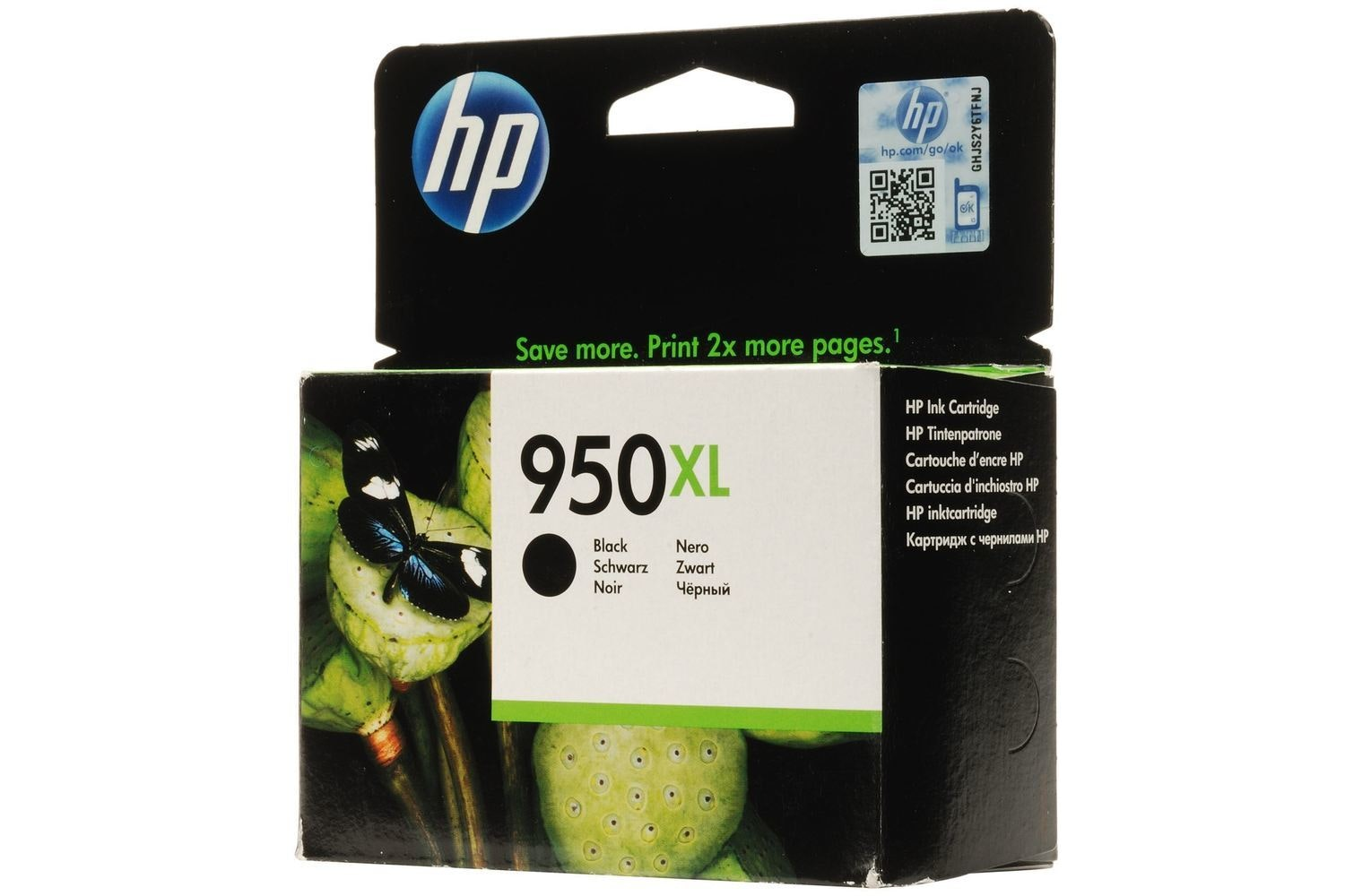 HP 950XL Black Ink