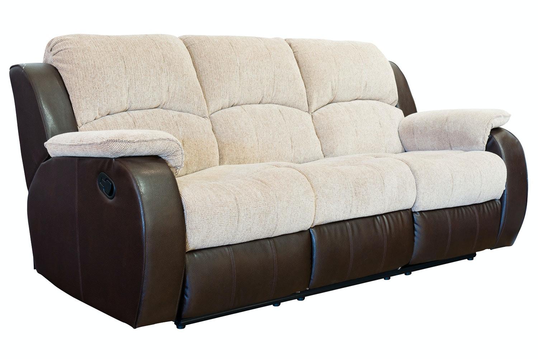 Kayde 3 Seater Recliner Sofa