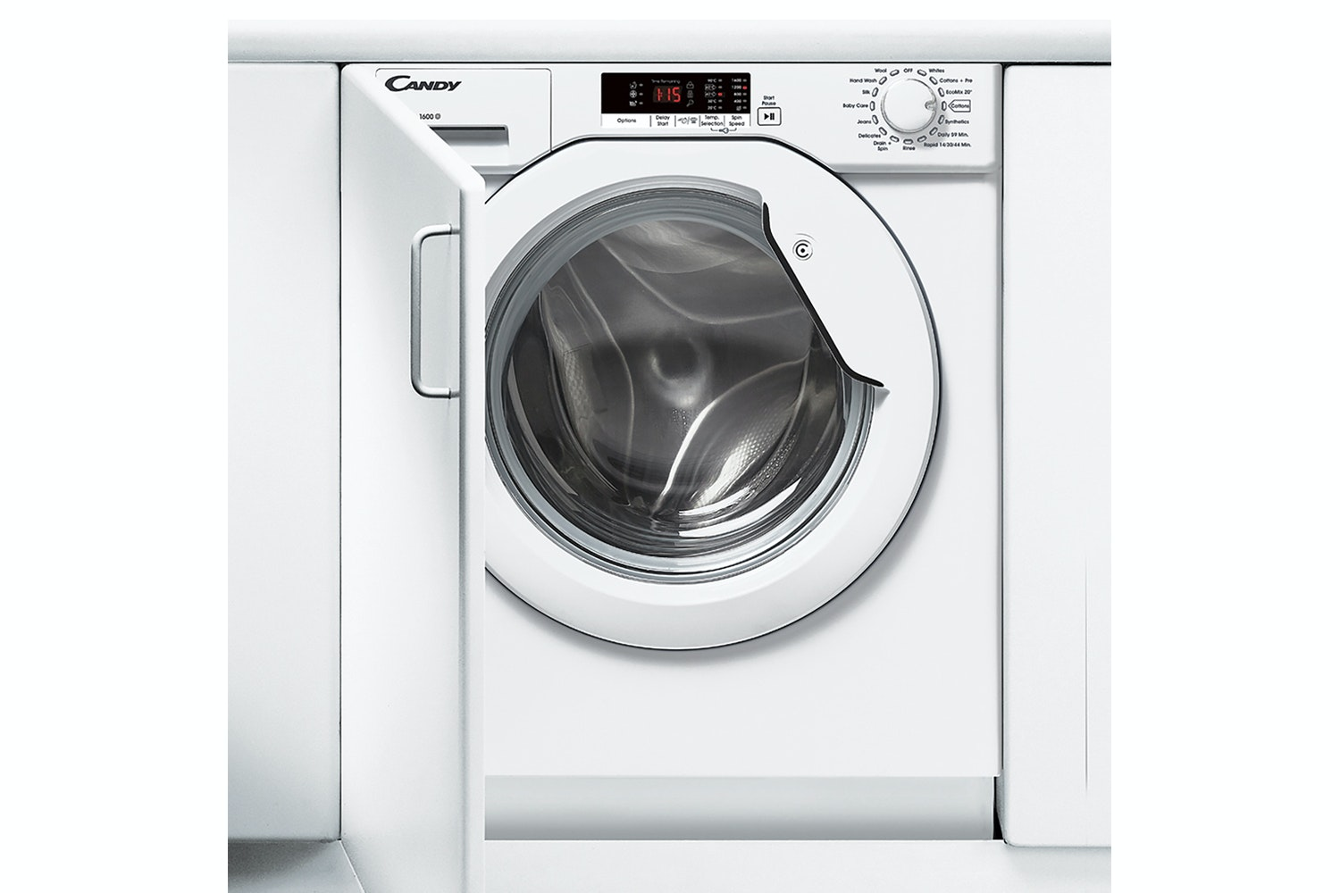 Candy 8kg Integrated Washing Machine | CBWM816S-80