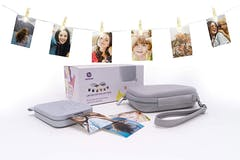 HP Sprocket 200 Photo Printer Bundle | Luna White