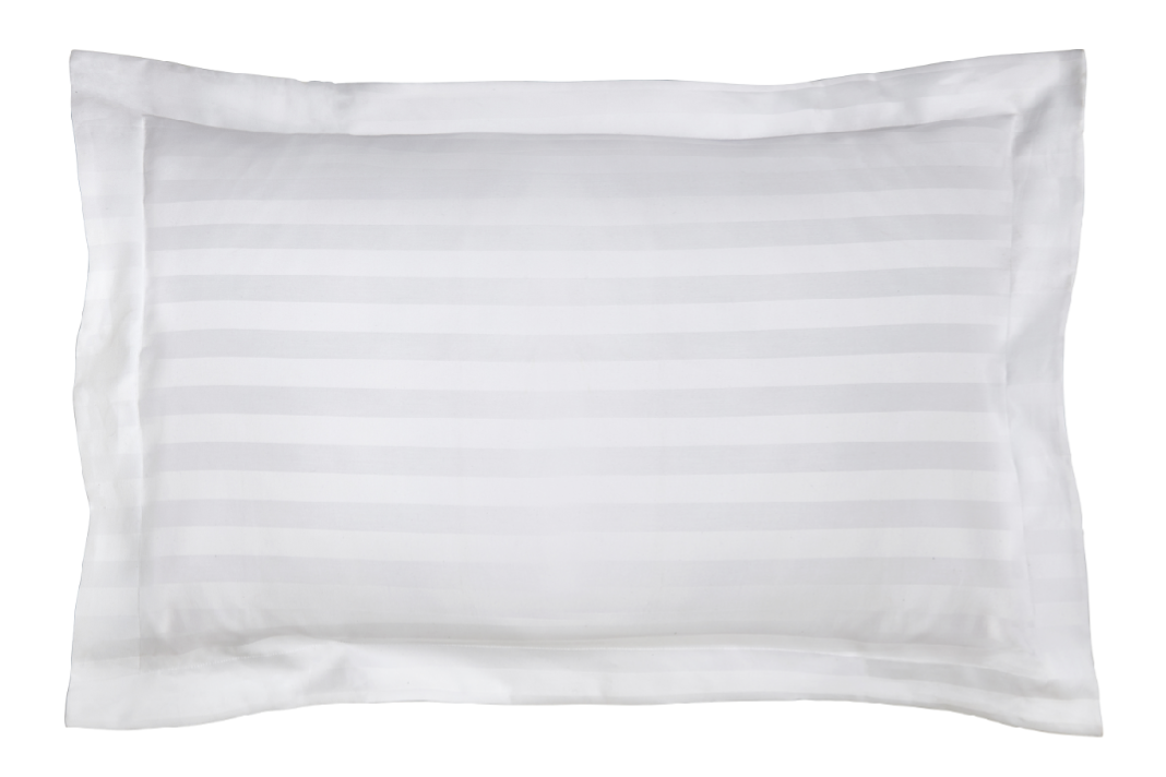 Paramount Oxford Pillowcase | Stripe White