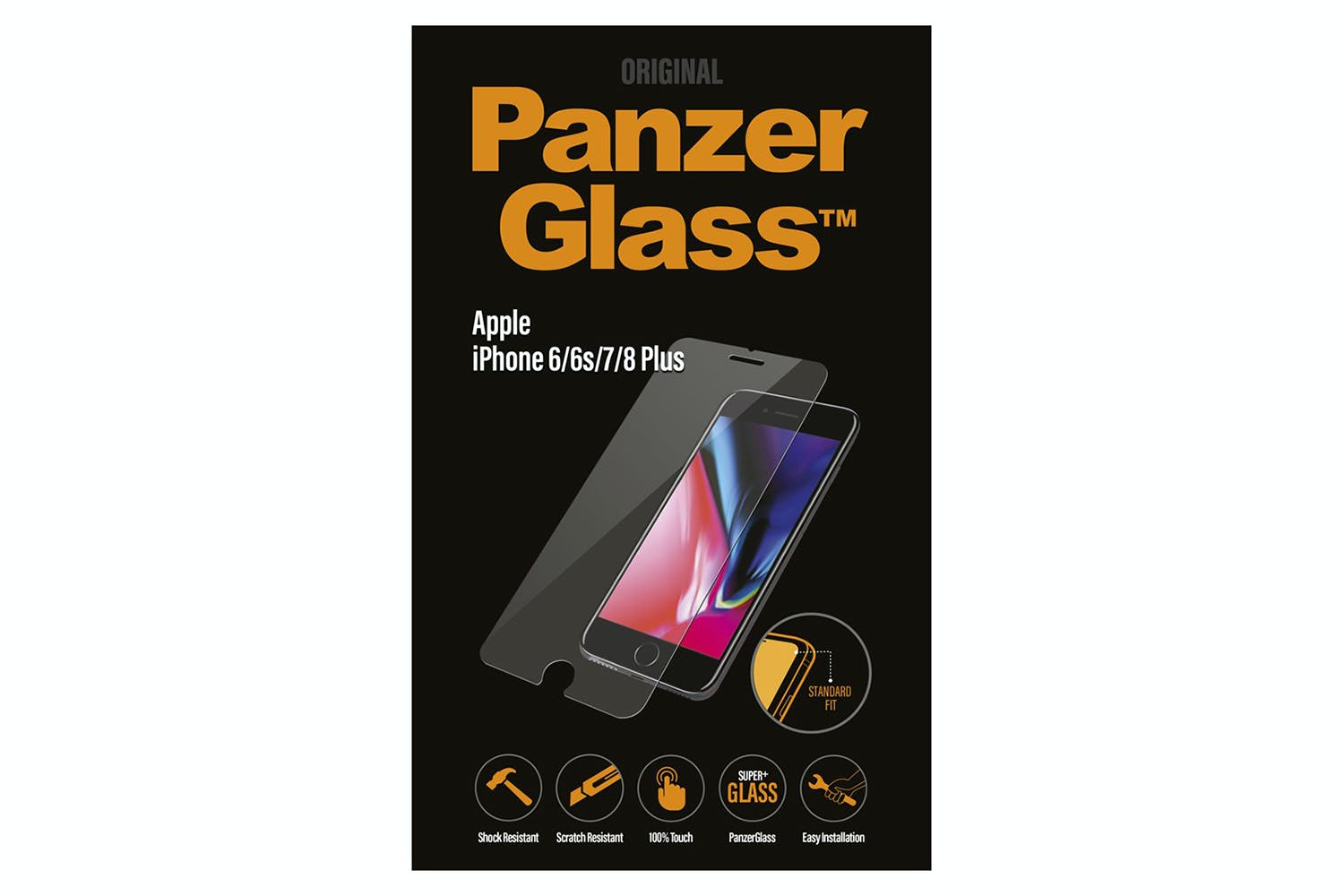 low priced 60ac4 18c90 PanzerGlass iPhone 6/6s/7/8 Plus Screen Protector