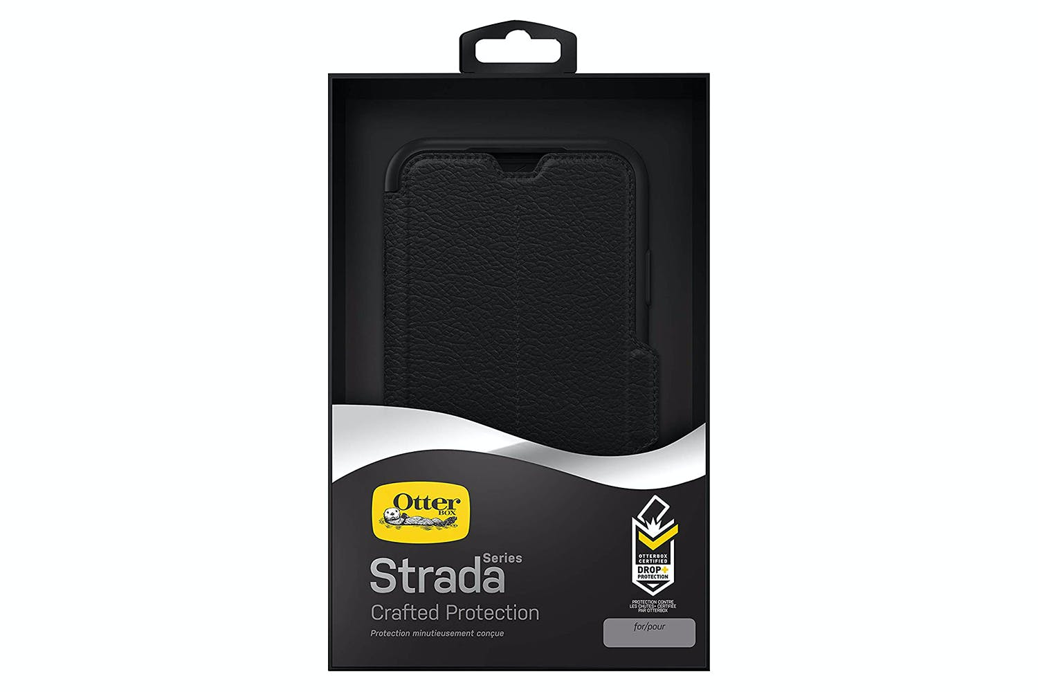 new product 7accc cd810 Otterbox Strada iPhone Xs Max Folio Case | Shadow Black