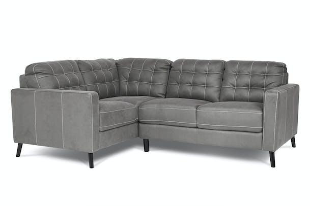 Danny Corner Sofa Grey