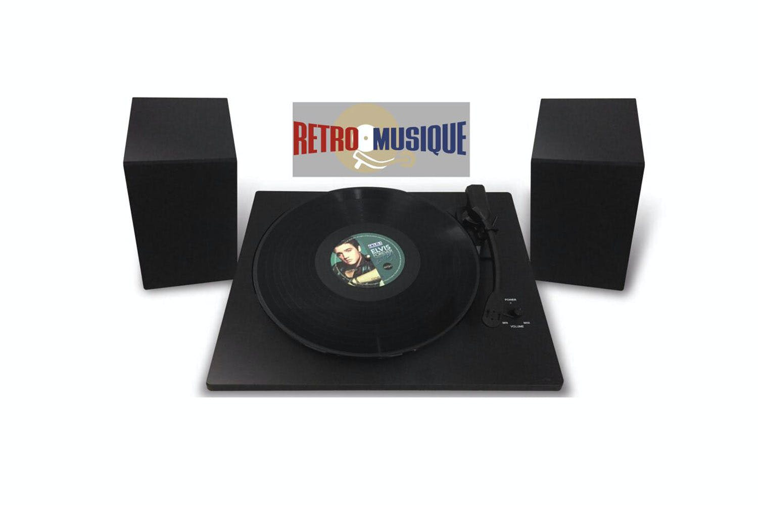 Retro Musique Vinyl Record Player Starter Kit