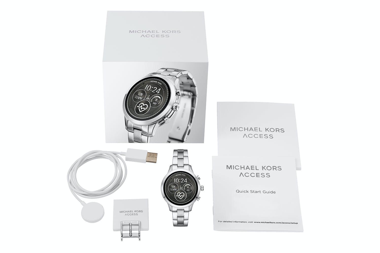 Michael Kors Access Runway Smartwatch Silver