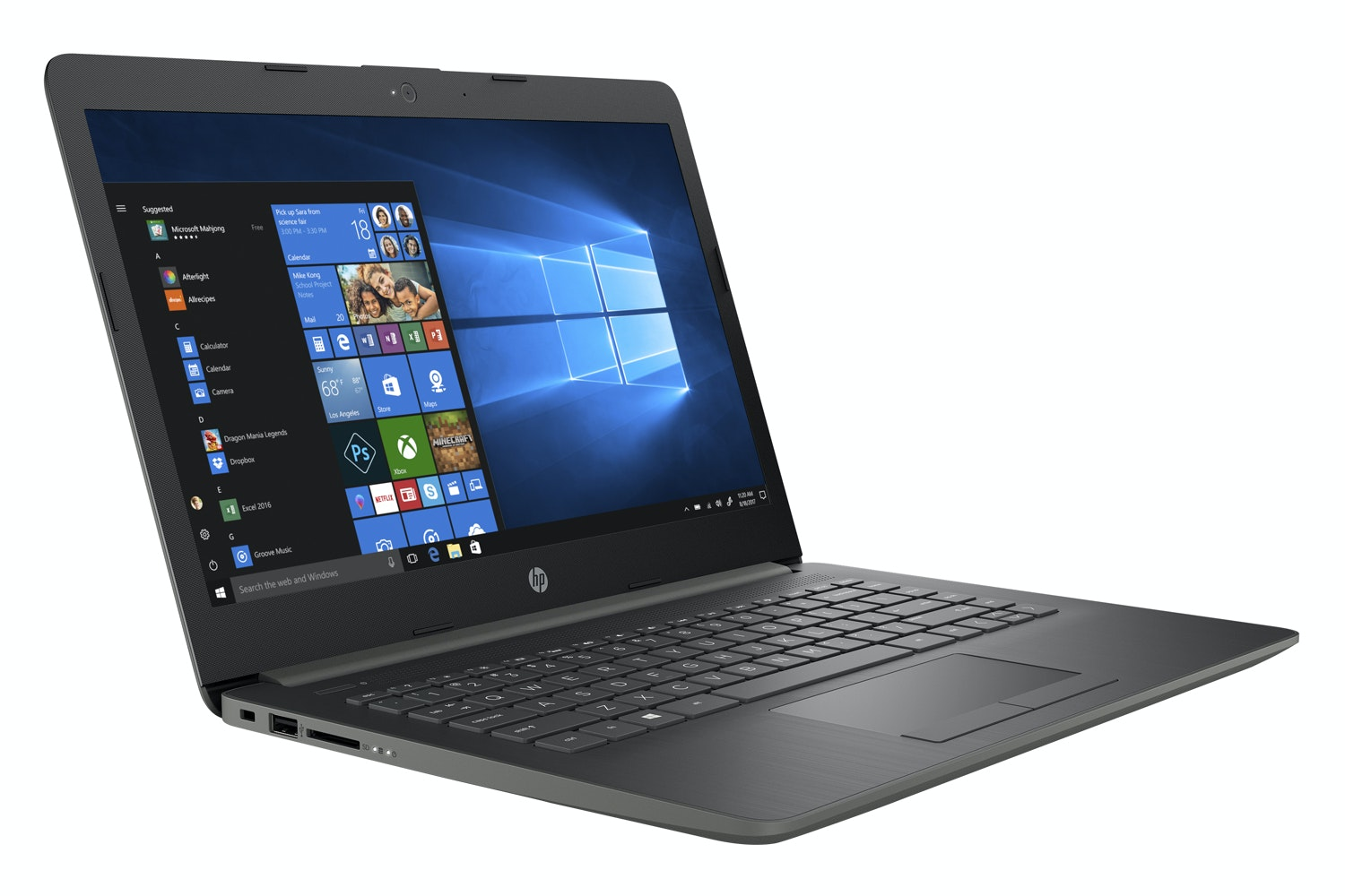 How to save pictures on hp computer
