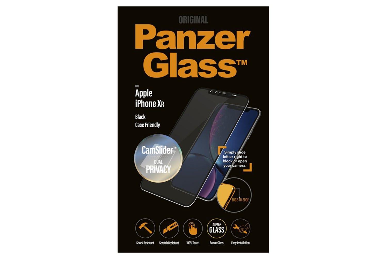 PanzerGlass Case Friendly iPhone XR Screen Protector   Black