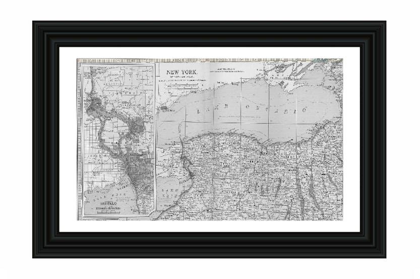 Map Of Ireland To New York.New York Map