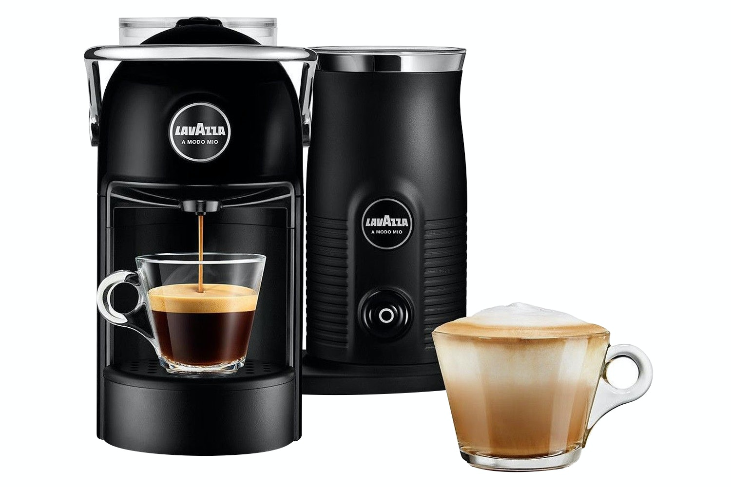 Lavazza Jolie Plus Coffee Machine with Milk Frother | Black