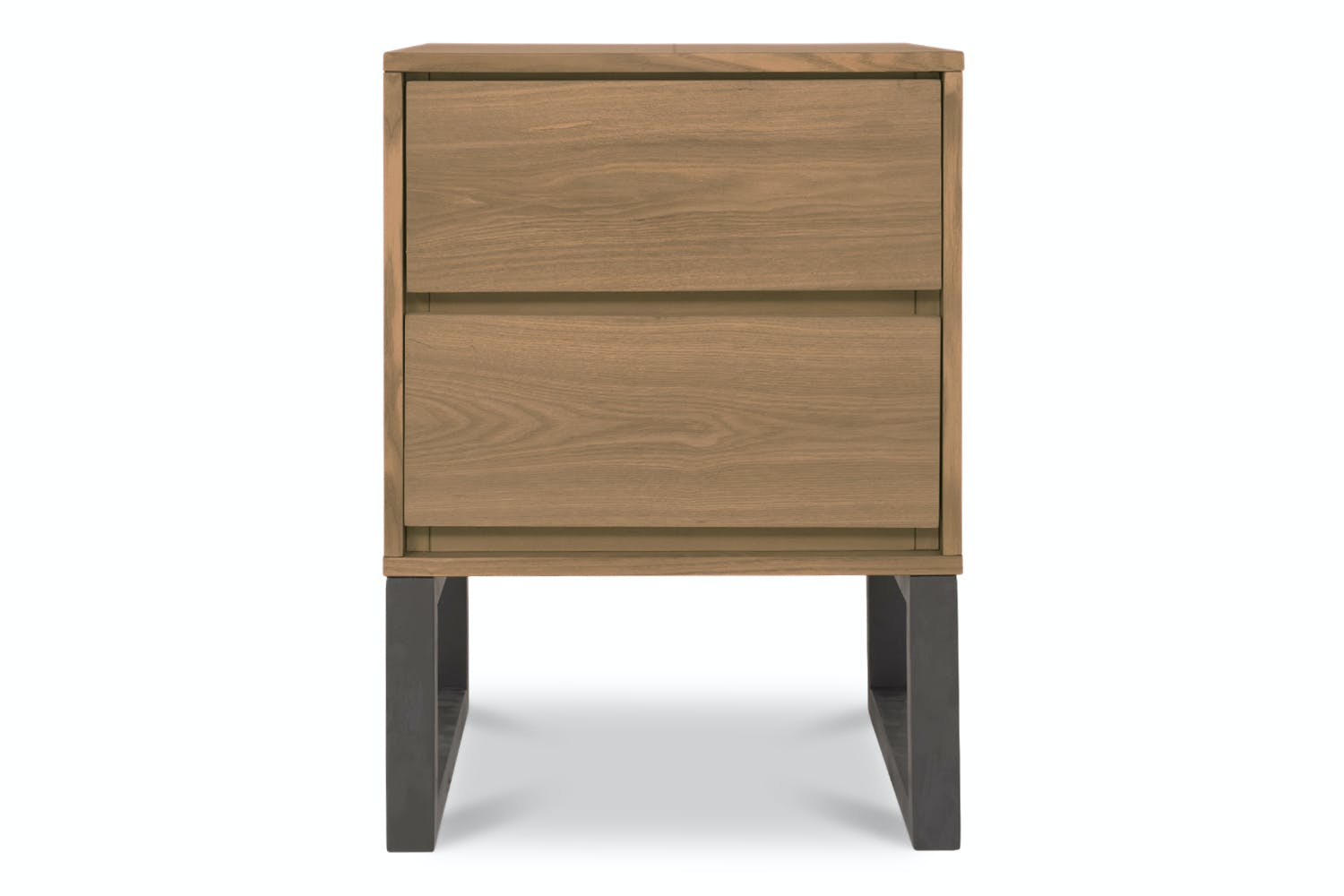 official photos 09889 84bee Alexis 2 Draw Bedside Table | Ash/Charcoal