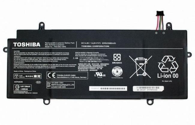 Toshiba Main Battery 14.8V 3380mAh