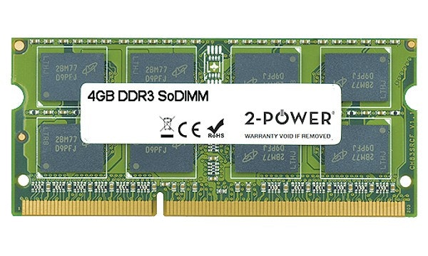 2-Power MultiSpeed 1066/1333/1600 MHz SoDIMM Memory Module | 4GB