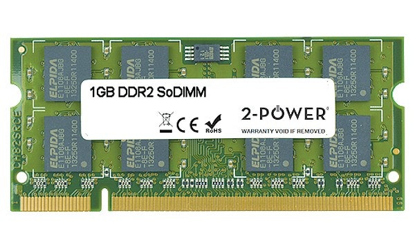 2-Power 1GB DDR2 CL5 SoDIMM 1Rx8