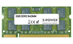 2-Power 2GB DDR2 CL6 SoDIMM 2Rx8