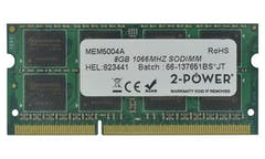 2-Power 8GB DDR3 CL7 SoDIMM 2Rx8