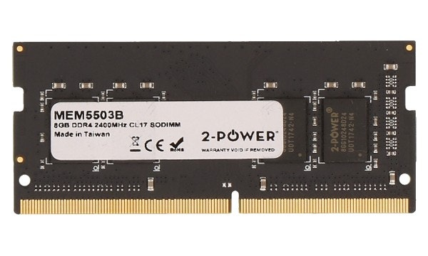 2-Power 8GB DDR4 CL17 Non-ECC SoDIMM 2Rx8