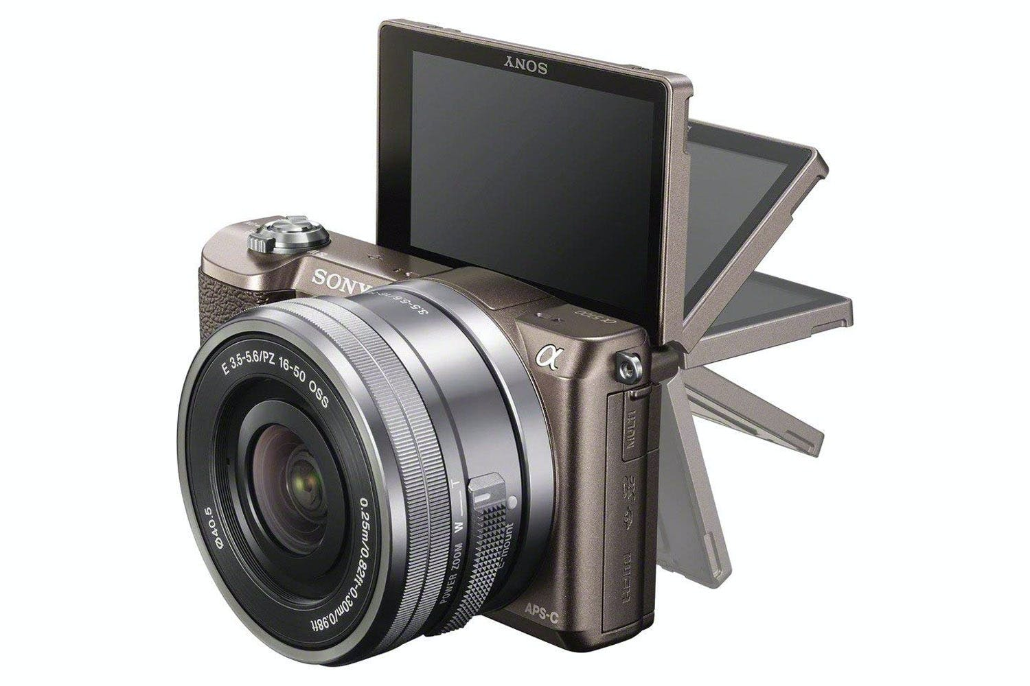 Sony A5100 Mirrorless Camera | Tan