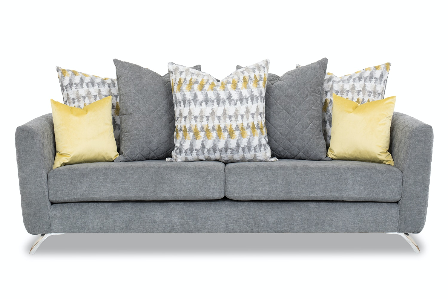 Lara 3 Seater Sofa | Pillow Back