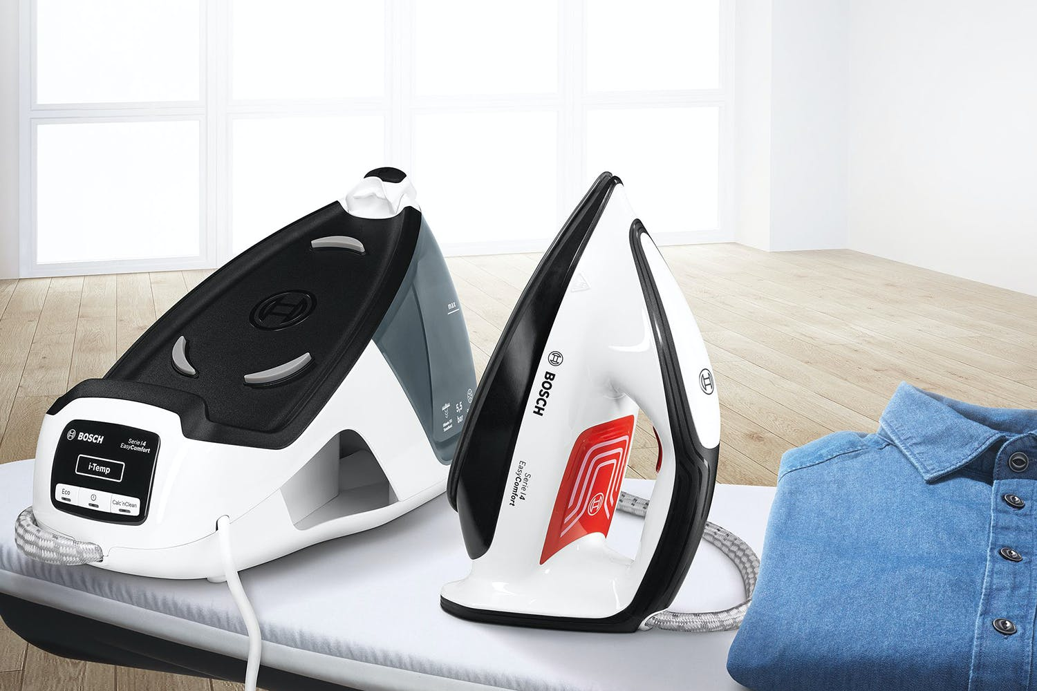 Bosch 2400W EasyComfort Steam Generator Iron | TDS4070GB