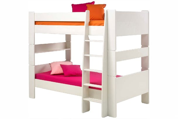 Popsicle Bunk Bed White